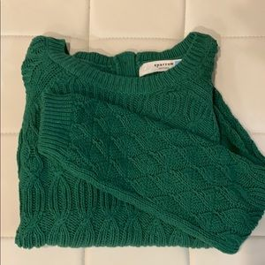 Anthro sweater sz XL